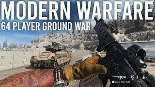 Modern Warfare Ground War Gameplay + Impressions