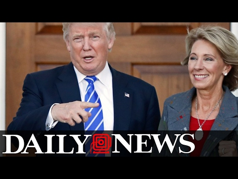Senate confirms Betsy DeVos as Education Secretary with Mike Pence's historical tie-breaking vote