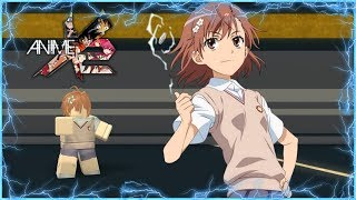 Roblox Anime Cross 2 Custom Character | Level 5 Railgun! Misaka Mikoto!