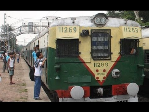 JOURNEY FROM  SEALDAH TO SODEPUR BY LOCAL TRAIN, 2016