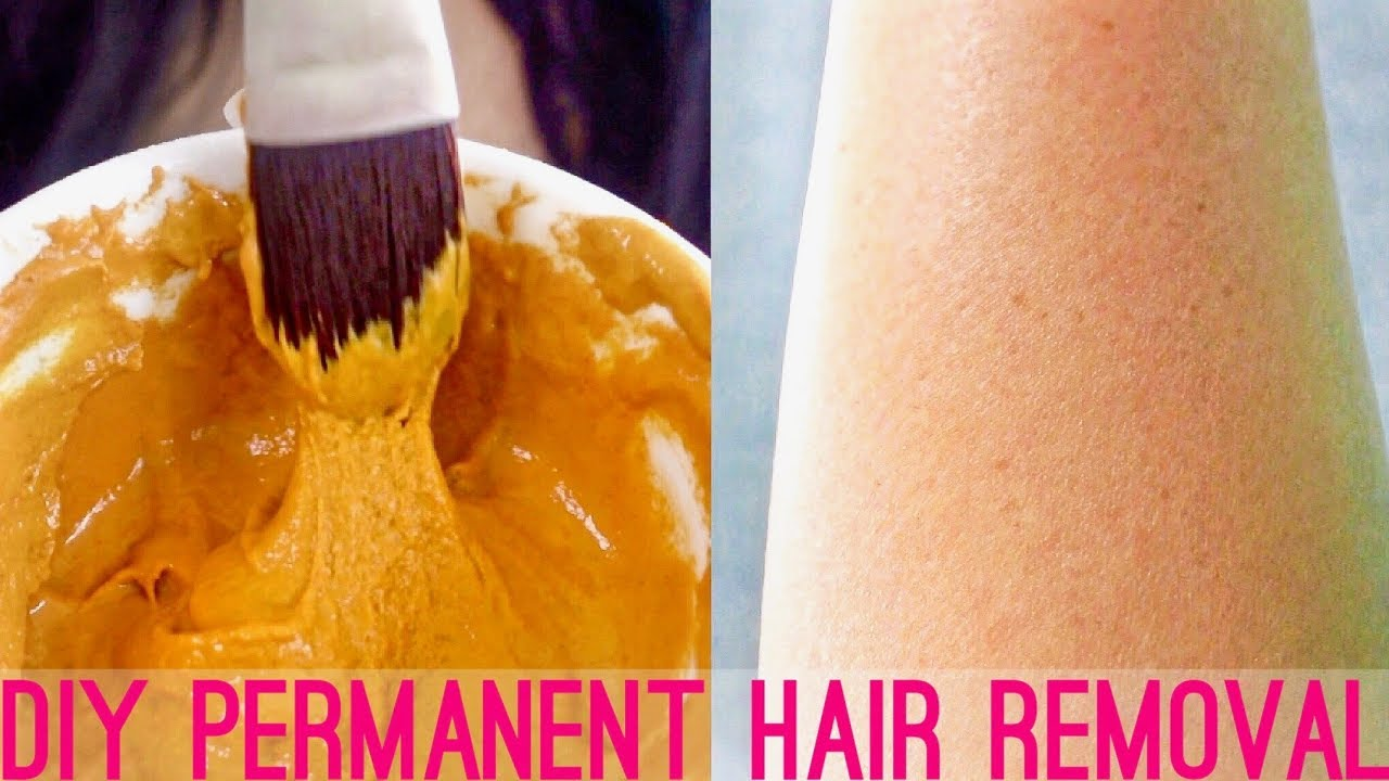 DIY Hair Removal Mask At Home | Face
