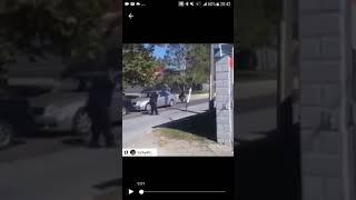 Police gun down black man in the wheelchair