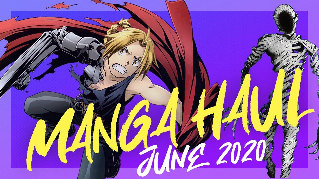 MONTHLY MANGA HAUL   June 2020 Manga Haul/Collection
