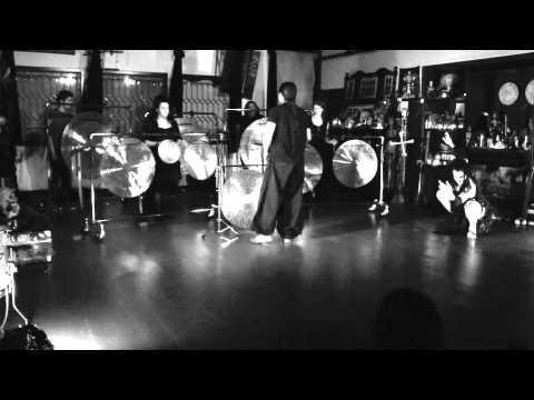 Nakatani Gong Orchestra (NGO), conducted by Tatsuya Nakatani Oct 22, 2011