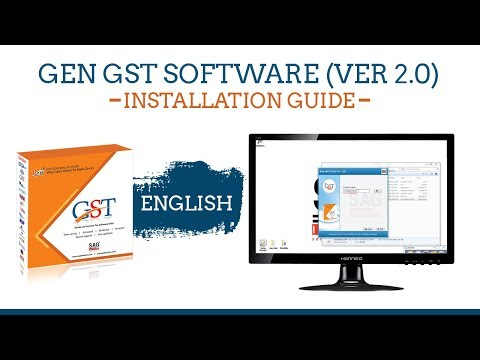 Gen GST Software Helpful Video Tutorials | SAG Infotech