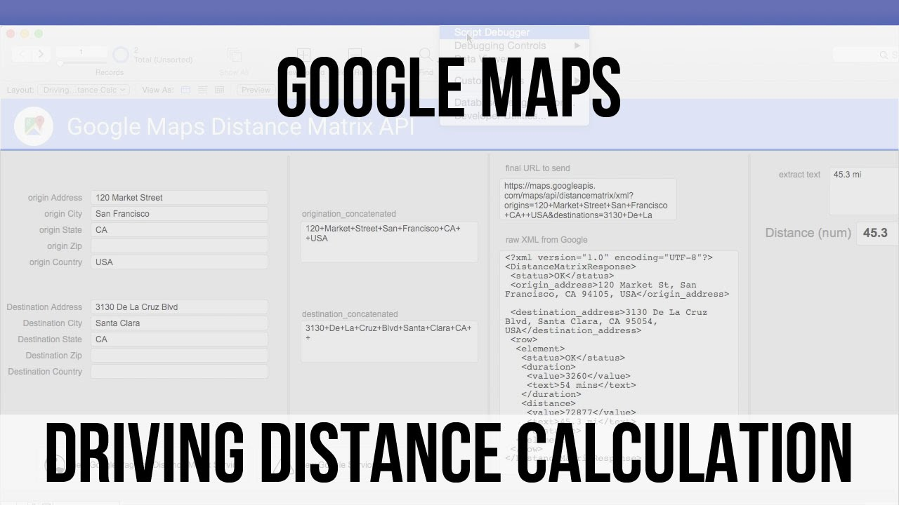Map usa distance calculator Distance Finder Map on