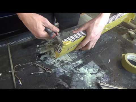 Как самому сделать радиаторную решетку