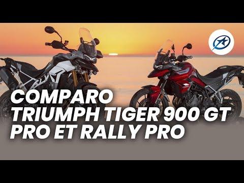 Essai comparo Triumph Tiger 900 GT Pro et Rally Pro (2020)