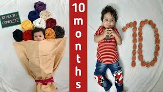 baby photography ideas | baby photography at home | baby photoshoot flower bouquet theme | 10month |