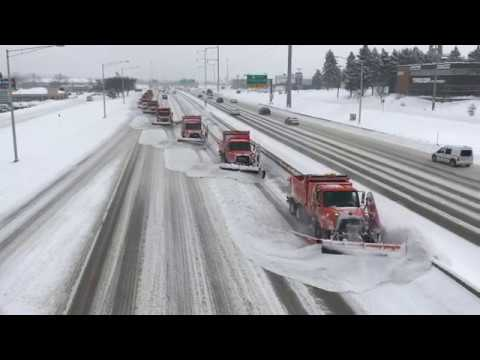 Plowing Snow the Dane County Way