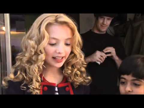 Peyton List In Doawk 2 Behind The Scenes Billy The Bass Youtube