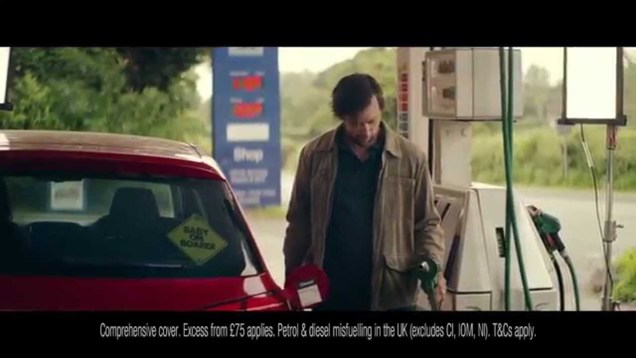Axa Car Insurance Wrong Fuel Cover Tv Ad July 2015 Youtube