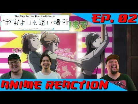 """HOSPITALITY INDUSTRY"" | Anime Reaction: Sora yori mo Tooi Basho Ep. 02"