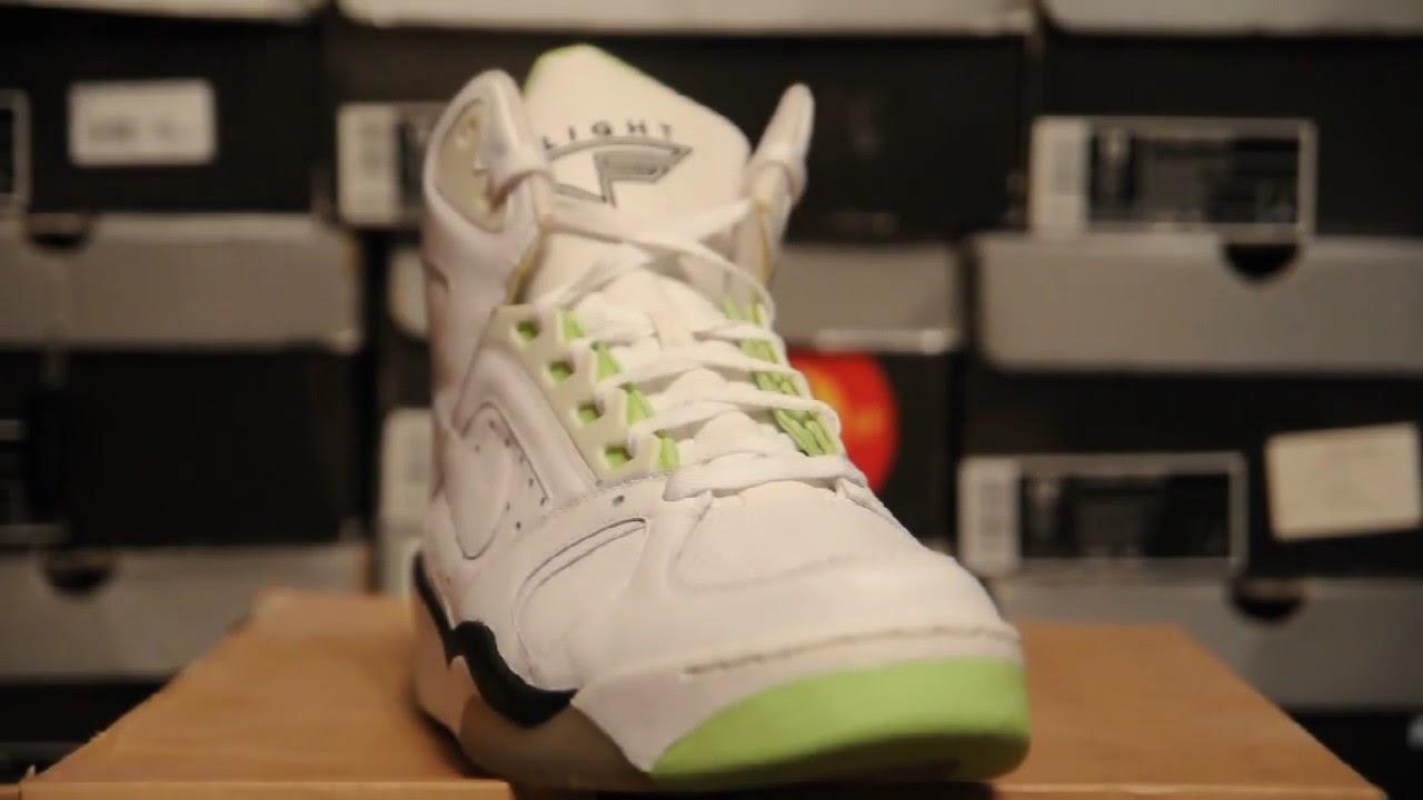 promo code d5e87 99b53 2008 Nike Flight Lite High   Citron   (329984 111) White Citron-Black