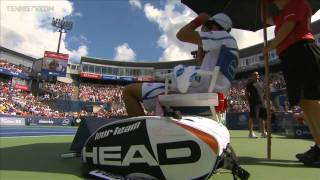 2011 Montreal: Djokovic Shows the Joker Side of Him