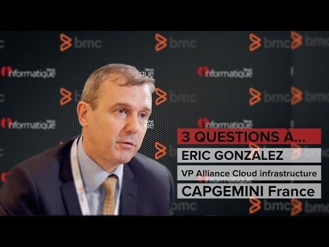 BMC Exchange 2016 : Interview Eric Gonzalez VP Alliance Cloud infrastructure Capgemini France
