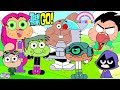 Teen Titans Go Color Swap Transforms Raven Gumball HIVE 5 Surprise Egg And Toy Collector SETC mp3