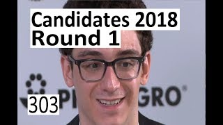 Candidates 2018: Round 1 with Caruana-So!