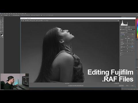 How I Edit / Process Fuji  RAF files  - in 4k - YouTube