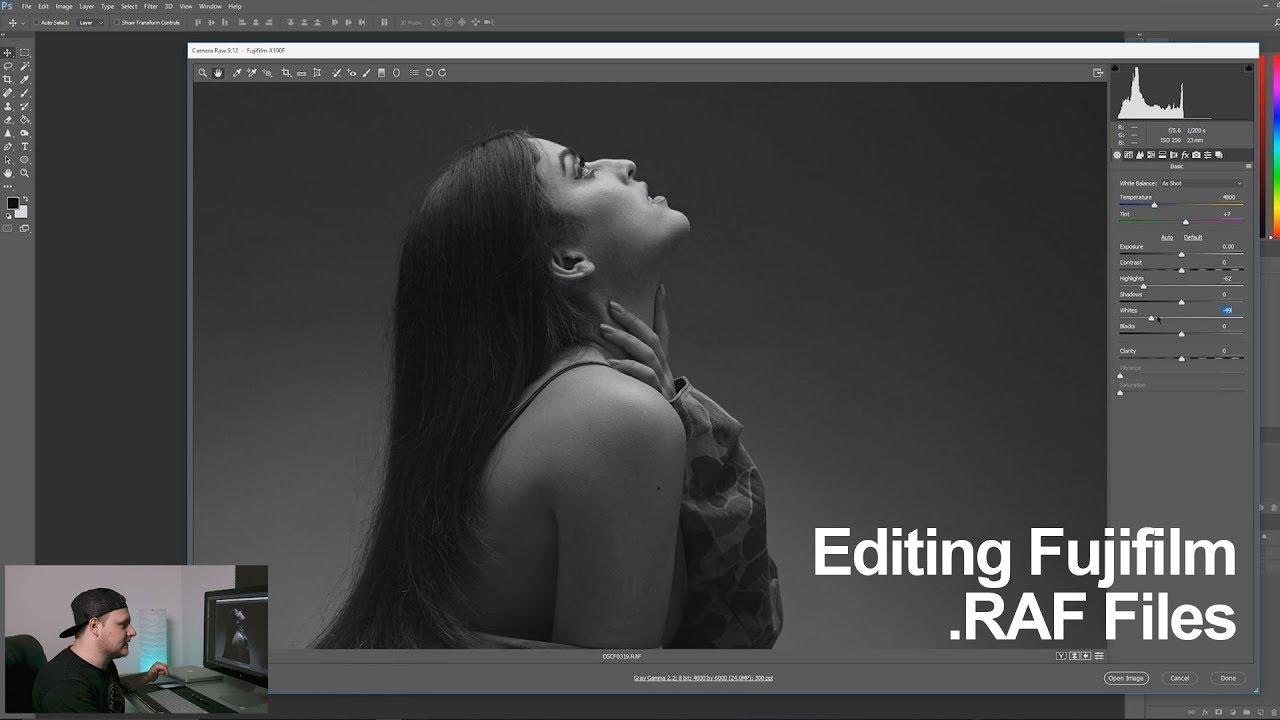How I Edit / Process Fuji  RAF files  - in 4k