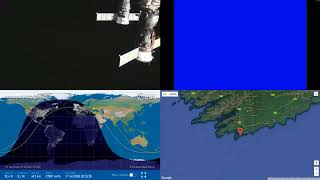 Orbital Sunrise Over Europe - NASA/ESA ISS LIVE Space Station With Map - 27 - 2018-07-16