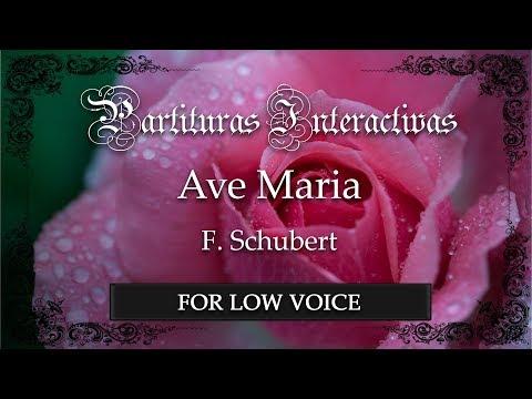 Ave Maria - F. Schubert (Karaoke - Key: F major) (Bonus track for low voice)