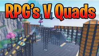 RPGS VS QUADS || RPGS VS INSURGENTS IN FORTNITE CREATIVE MODE