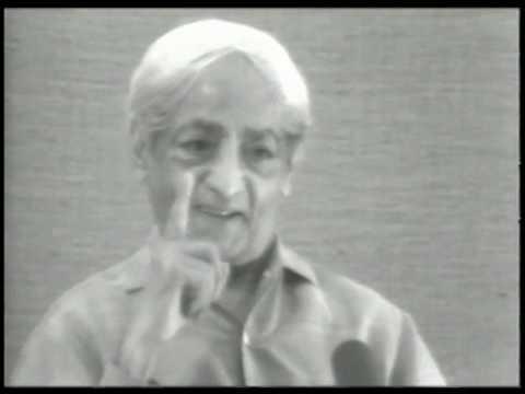 On Observation And Motive |J. Krishnamurti