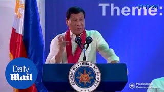 Philippines President Duterte calls Kim Jong-un a 'maniac' - Daily Mail
