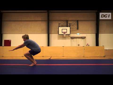 Gymnastikpyramiden - Baglæns rulle til håndstand