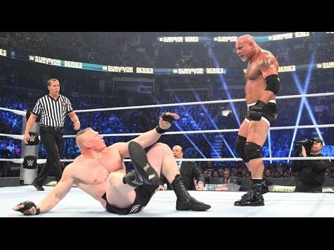 Goldberg vs Brock Lesnar Survivor Series...