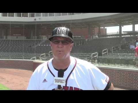 WAC Baseball Tournament - Game 6 - NM State Head Coach Rocky Ward