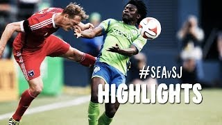HIGHLIGHTS: Seattle Sounders vs. San Jose Earthquakes | May 17, 2014