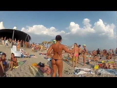 пляж крым фото девушки