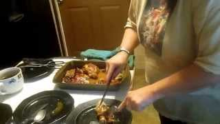 Honey Baked Chicken Legs And Thighs Easy To Make And Yummy