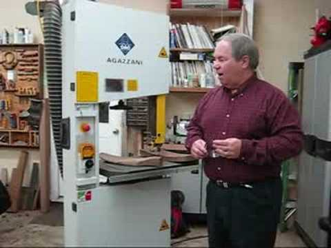 Maloof Inspired Rockers with Charles Brock The Bandsaw 1