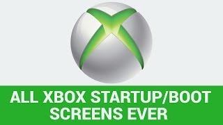 ALL XBOX STARTUP SCREENS | All Xbox Console Startups showing...