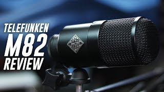 Telefunken M82 Broadcast Dynamic Mic Review / Test