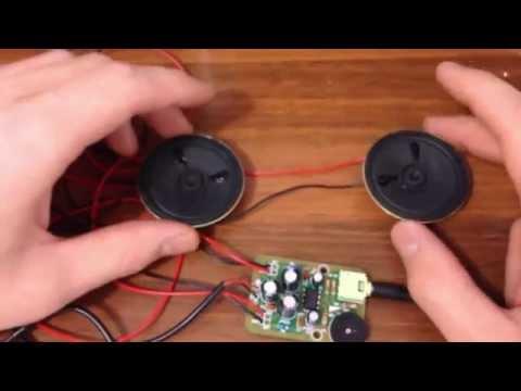 видео: Простой усилитель с питанием от usb