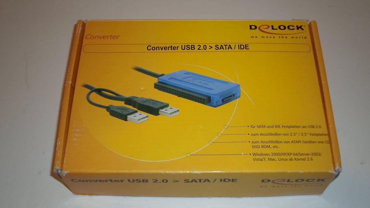 DELOCK CONVERTER SATA IDE ESATA USB 2.0 TREIBER WINDOWS XP