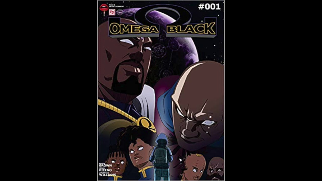 OMEGA BLACK MANGA KICKSTARTER IS NOW LIVE PUT IN A PLEDGE TODAY!