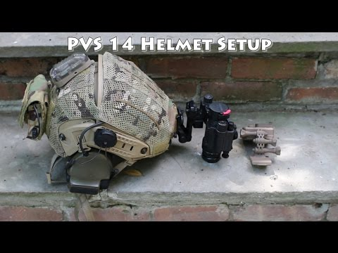 PVS 14 Airsoft Airframe Helmet Overview