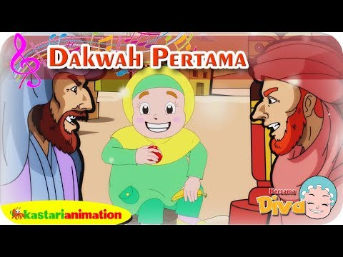 DAKWAH PERTAMA | Lagu Anak Islami bersama Diva | Lagu Nabi Muhammad | Kastari Animation Official