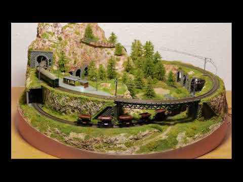 Tablettbahn Spur Z, Märklin Mini Club, 1:220, Micro Layout, Z Scale, Z Gauge, Model Railroad