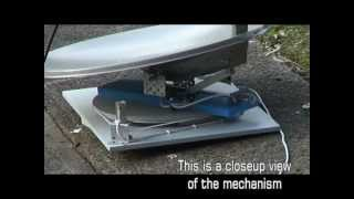 Homemade Portable Automatic Satellite Dish for Caravan using PIC16F88