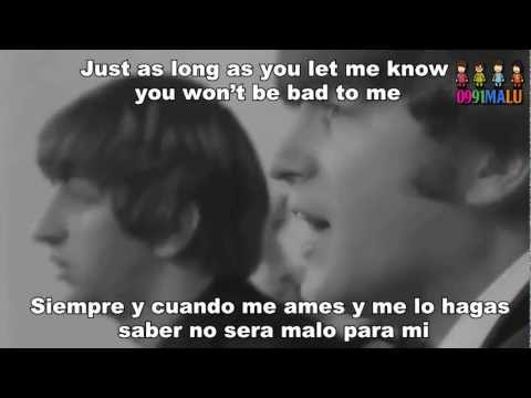 Bad To Me-The Beatles(subtitulado en ingles y español)[with lyrics]