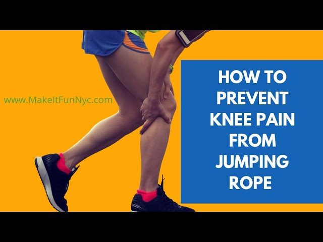 How To Prevent Knee Pain From Jumping Rope