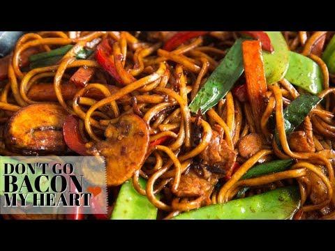 Delicious & Easy Chicken Noodle Stir Fry