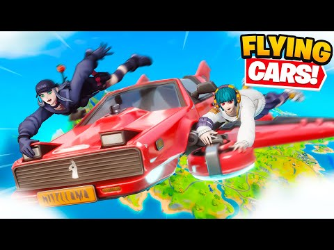 *NEW* FLYING CARS in Fortnite