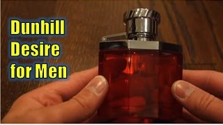 Dunhill Desire fragrance/cologne review
